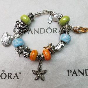 Pandora Bracelet with Non-Pandora charms